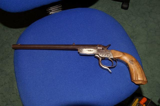 Tir longue distance afficher le sujet pistobert ou for Pistolet de salon